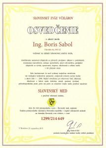 Certifikat MED